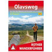 Olavsweg túrakalauz Bergverlag Rother német   RO 4554