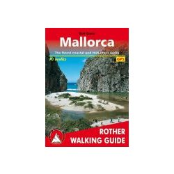 Mallorca túrakalauz Bergverlag Rother angol   RO 4805