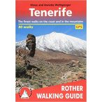 Tenerife – 80 walks túrakalauz Bergverlag Rother angol   RO 4809
