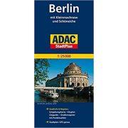 Berlin térkép ADAC Berlin és környéke térkép 1:25 000