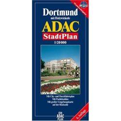 Dortmund térkép ADAC 1:20 000