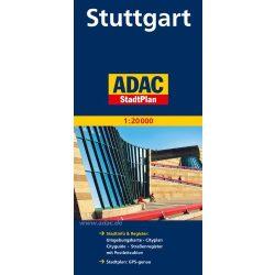 Stuttgart térkép ADAC 1:20 000  2013-17