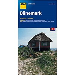 Dánia térkép ADAC 2016 1:300 000