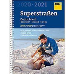 Németország autós atlasz ADAC 1:200 000  2022/2023  Németország atlasz