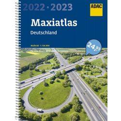 Németország autós atlasz ADAC spirál 1:150 000  2022/2023  Németország atlasz