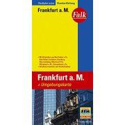 Frankfurt térkép Falk 1:20 000