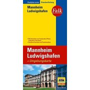 Mannheim térkép Falk 1:20 000