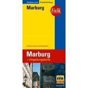 Marburg térkép Falk