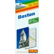 Boston térkép Hallwag