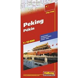 Peking térkép Hallwag 1:15 000