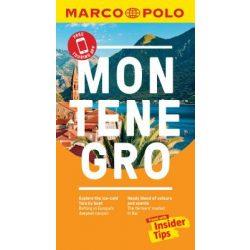 Montenegro útikönyv Marco Polo 2019 angol