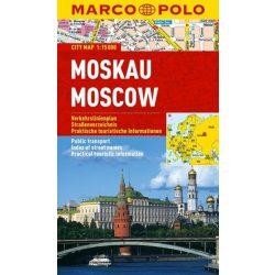Moszkva térkép Marco Polo vízálló 2014 1:15 000