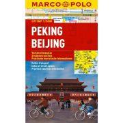 Peking térkép vízálló Marco Polo 2013 1:15 000