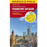 Frankfurt térkép Marco Polo fóliás belváros térkép 1:16 000
