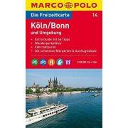 14. Köln, Bonn és környéke turista térkép Marco Polo 1:100 000