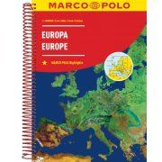 Európa atlasz Marco Polo 2018 1:2 000 000