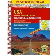 USA atlasz Marco Polo   1:4 000 000, 1:800 000