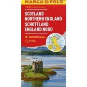 Skócia térkép Marco Polo 1:300 000  2017 Észak-Anglia térkép
