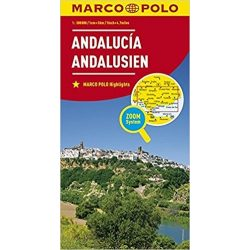 Andalúzia térkép Marco Polo 2017  1:300 000