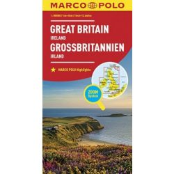 Nagy-Britannia térkép Marco Polo 1:800 000