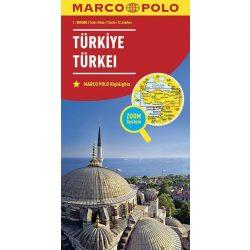 Törökország térkép Marco Polo 2016 1:800 000