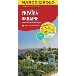 Ukrajna térkép Marco Polo 1:800 000