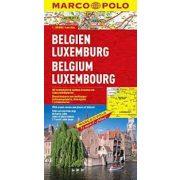 Belgium térkép Marco Polo  1:300 000  Belgium, Luxembourg térkép