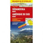 Dél-Amerika térkép északi rész  Marco Polo 2013 1:4 000 000
