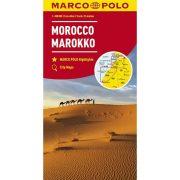 Marokkó térkép Marco Polo 1:800 000 Morocco térkép 2019