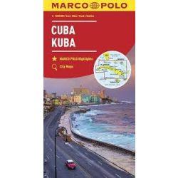 Kuba térkép Marco Polo 1:1 000 000 2018
