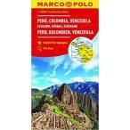 Peru térkép Marco Polo 2016 1:4 000 000