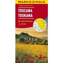 Toscana térkép Marco Polo 1:200 000