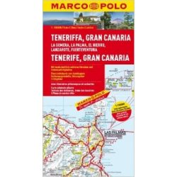 Tenerife térkép Marco Polo  1:150 000