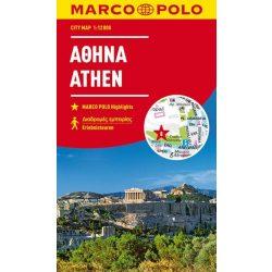Athén térkép Marco Polo vízálló  2018 1:15 000