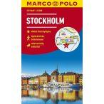 Stockholm térkép Marco Polo vízálló 2019 1:15 000