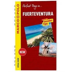 Fuerteventura útikönyv Marco Polo Spiral Guide , angol 2015