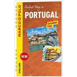 Portugália Portugal útikönyv Marco Polo Spiral Guide, angol 2017