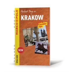 Krakow Krakkó útikönyv Marco Polo spiral Guide angol 2018