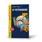 Szentpétervár útikönyv Marco Polo Spiral Guide, St Petersburg útikönyv Mairdumont, angol 2018