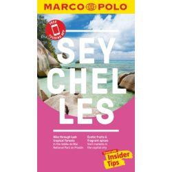 Seychelles útikönyv Marco Polo angol guide Seychelles térkép és útikönyv 2019