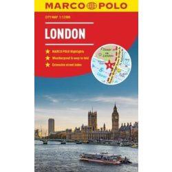 London térkép Marco Polo vízálló 2018 1:15 000  London várostérkép