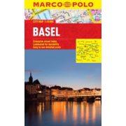 Basel térkép Marco Polo 1:15 000  Bázel térkép 2017