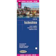 Tschechien térkép Reise 2016 1:350 000
