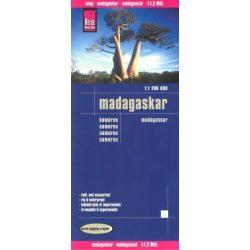 Madagaszkár térkép Reise 2016 1:550 000