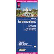 Észak-nyugat India térkép Reise 1:300 000  2018