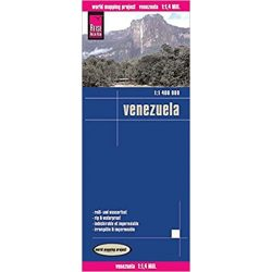 Venezuela térkép Reise vízálló 1:1 400 000