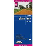 Ghana térkép Reise 2014 1:600 000  Gána térkép