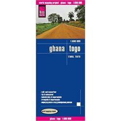 Ghana térkép Reise 1:600 000  Gána térkép