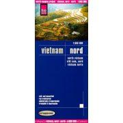 Észak-Vietnam térkép Reise 2015 1:1 600 000
