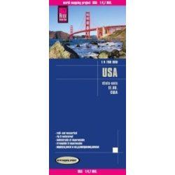 USA térkép Reise 1:4 700 000